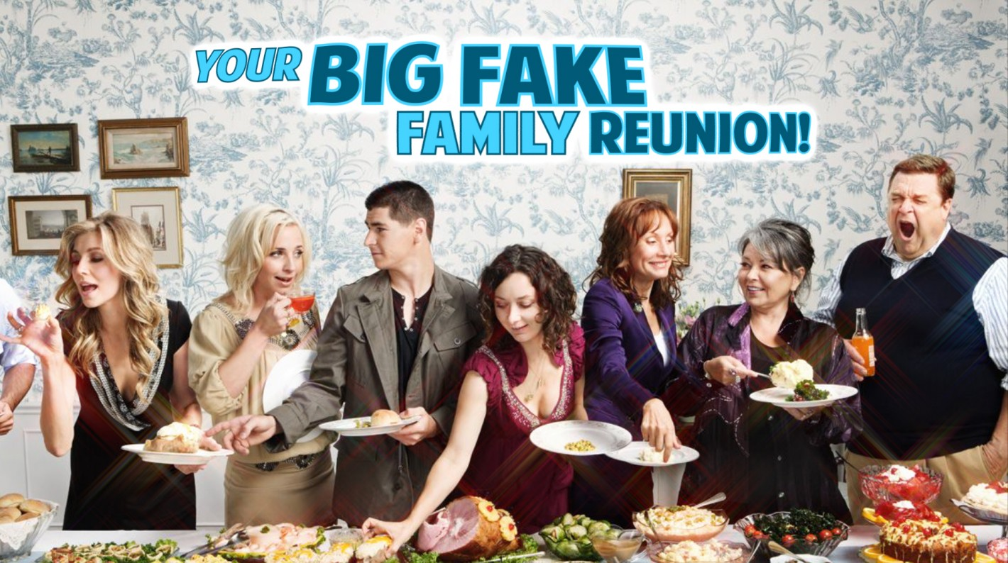 YOUR BIG FAKE FAMILY REUNION! TITLE 2 (0;00;00;00)